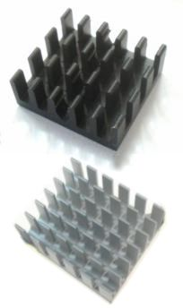 heatsink surface colour